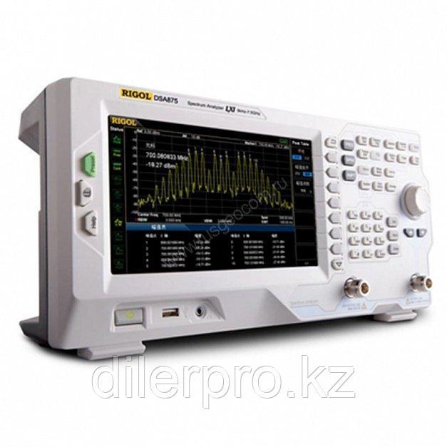 Анализатор спектра Rigol DSA875-TG