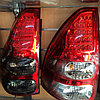 Светодиодные фонари на TLC Prado 120 2002-2009 г., фото 2
