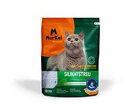 Murkel, Муркель силикагелевый наполнитель для кошек с ароматом скошенной травы, уп. 10л (4,5кг)