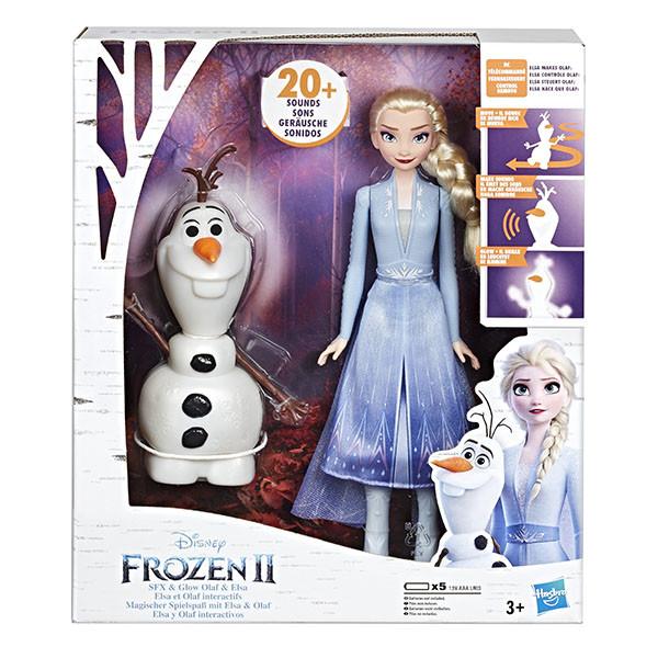 Hasbro Disney Princess  Игровой набор ХОЛОДНОЕ СЕРДЦЕ 2 Эльза и Олаф