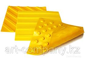 Тактильная дорожка плитки резиновые 30*30см