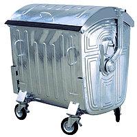 Оцинкованный бак для мусора 1100 литров