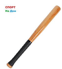 Деревянная бейсбольная бита 82 см