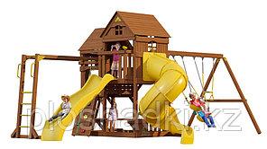 Детская площадка «Рама» с трубой, спуском и рукоходом