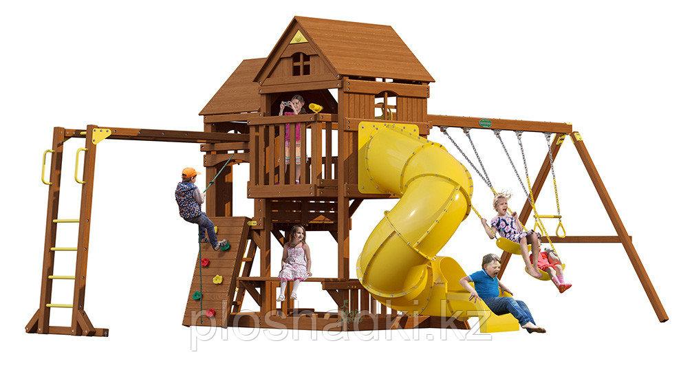 """Детская площадка """"Рама"""" с трубой и рукоходом"""