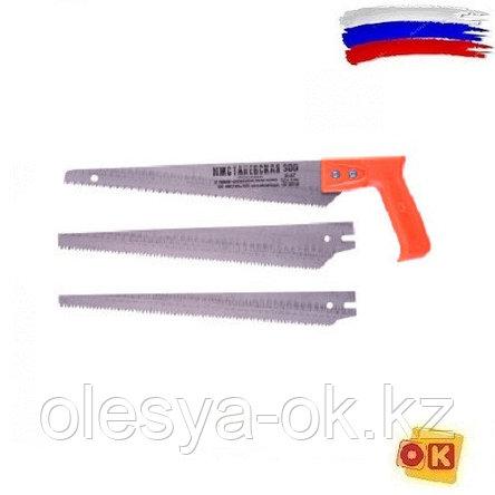 Ножовка по дереву, 300 мм, 3 сменных полотна, (Ижевск) Россия, фото 2