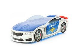 Кровать машина детская БМВ-М police