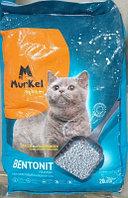 Murkel, Муркель Комкующийся наполнитель для кошачьего туалета с ароматом зелёного чая, уп. 20л (16 кг.)