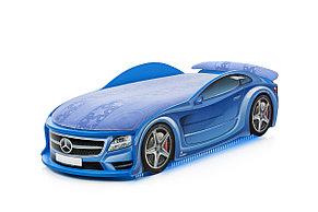 Кровать машина детская Мерседес-М Blue