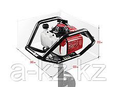 Мотобур (бензобур), d=60-300 мм, 71 см3, 2 оператора, ЗУБР, фото 2