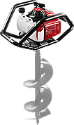 Мотобур (бензобур), d=60-300 мм, 71 см3, 2 оператора, ЗУБР