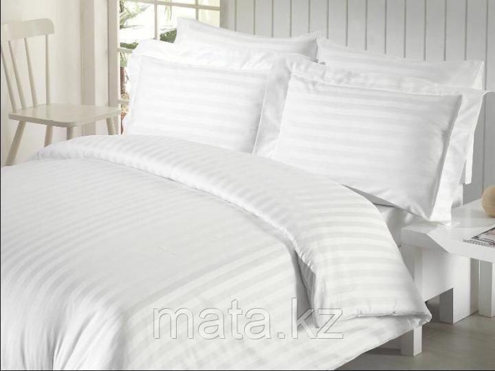 Постельное белье из страйп сатина двухспальное оптом и в розницу
