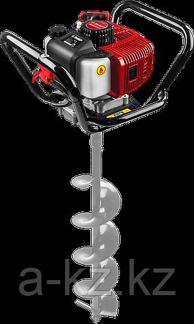 Мотобур (бензобур), d=60-200 мм, 52 см3, 1 оператор, ЗУБР, фото 2