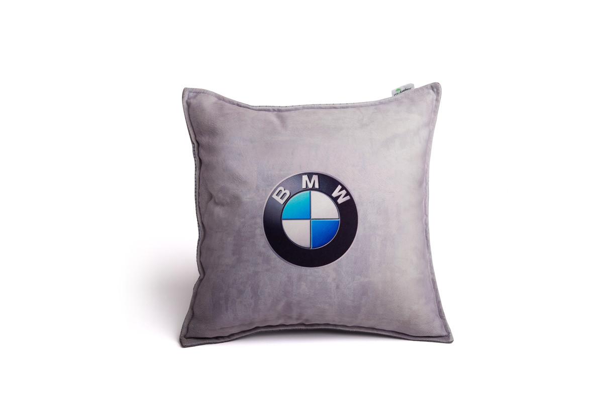 Подушка декоративная с логотипом