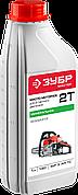 Масло ЗУБР, для 2-х тактных двигателей, минеральное, соотнош. бензин-масло 50:1, класс API TC, M/F 3, 1л