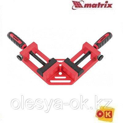 Струбцина угловая, быстрозажимная, 65/65 мм, MATRIX 20322