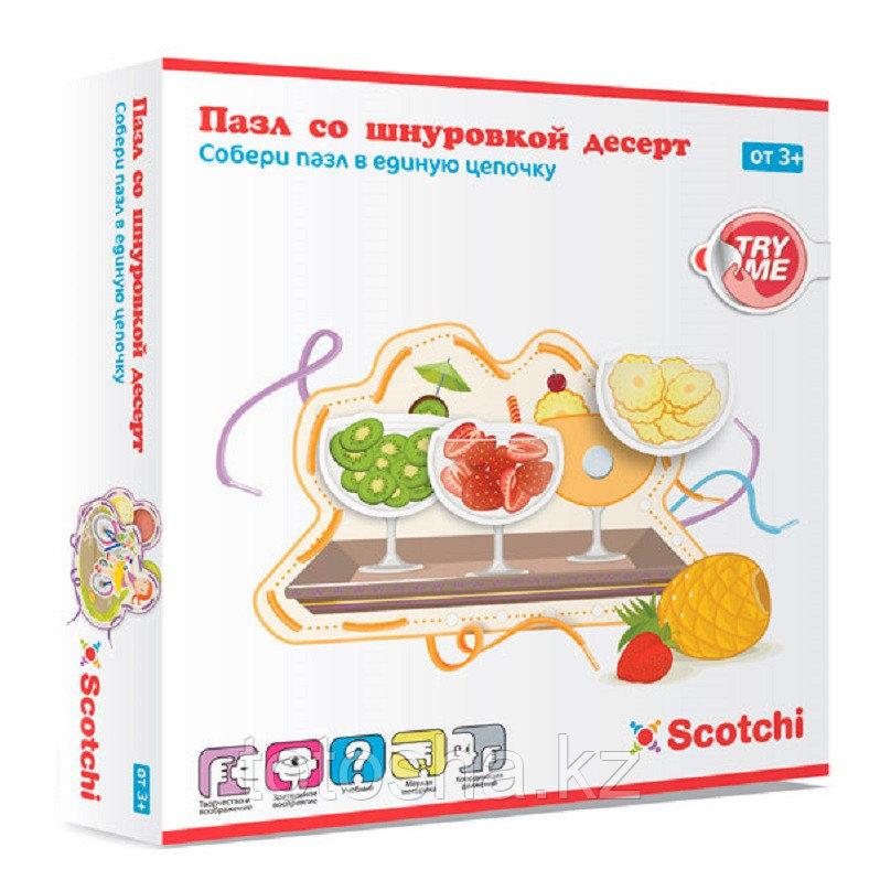 """Пазл со шнуровкой """"Десерт"""" Scotchi 20035"""