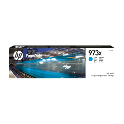 Картридж струйный HP 973X Cyan Original PageWide   (F6T81AE)