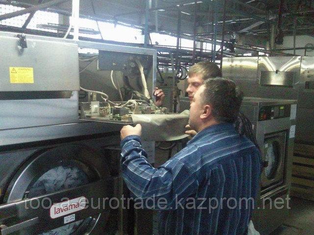 Ремонт и техобслуживание прачечного оборудования