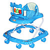 Ходунки Bambola Краб (8 колес, игрушки, муз) Голубой