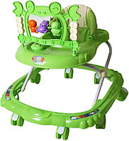 ЯДетские ходунки Bambola Краб 8 колес зеленый, фото 1