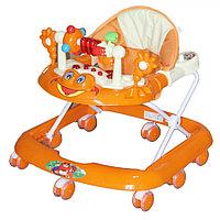 Детские ходунки Bambola Лягушонок оранжевый