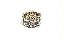 Вечерние браслеты Brosh Jewellery. белый Кристалл Тренд 2020г.
