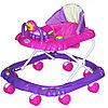 Ходунки Bambola Мишка 8 колес сиреневый
