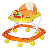 Ходунки детские Bambola Мишка 8 колес оранжевый