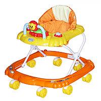 Ходунки Bambola Мишка 8 колес оранжевый, фото 1