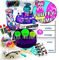 Набор для творчества Лаборатория слайм Большой комплект с очками и игрушками в ассортименте (015P)
