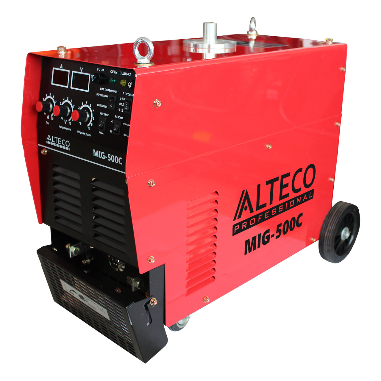 Сварочный аппарат ALTECO MIG500C + катушка (Полуавтоматы)