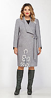 Пальто La Kona-1130-1, серый, 56 58