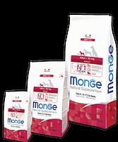 4053 Monge Superpremium Mini Adult, Монже корм для взрослых собак мелких пород. уп.7,5кг.