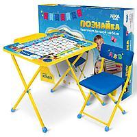Набор мебели ПОЗНАЙКА с 1,5 лет (Ника, Россия)