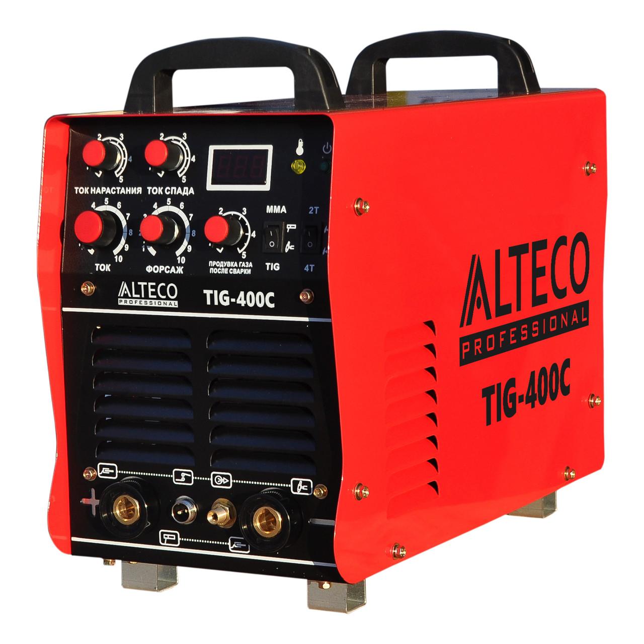 Сварочный аппарат ALTECO TIG-400C (Аргонодуговая сварка)