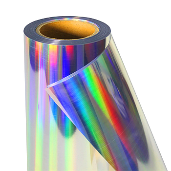 Термо флекс 0,5мх25м PU голографическое серебро метр