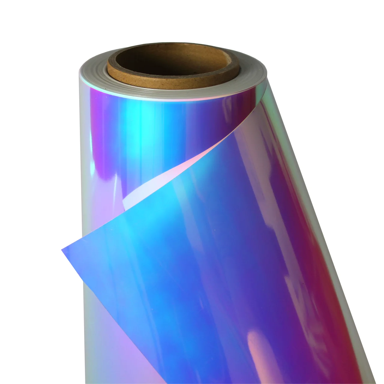 Термо флекс 0,5мх25м голографический белый метр