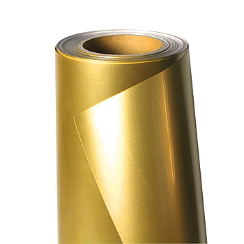 Термо флекс 0,5мх25м PU темное золото глянец метр