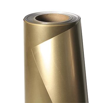Термо флекс 0,5мх25м PU золото глянец метр