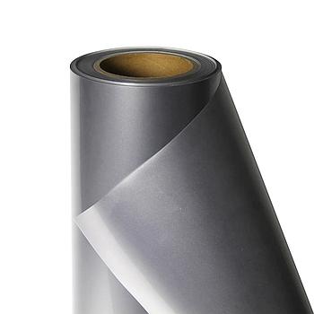Термо флекс 0,5мх25м PU серебро глянец метр