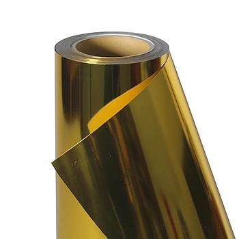 Термо флекс 0,5мх25м PU темное золото зеркальное металлизированное метр