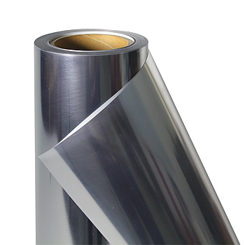 Термо флекс 0,5мх25м PU серебро зеркальное металлизированное метр