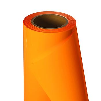 Термо флекс 0,5мх25м PU флуоресцентный оранжевый метр