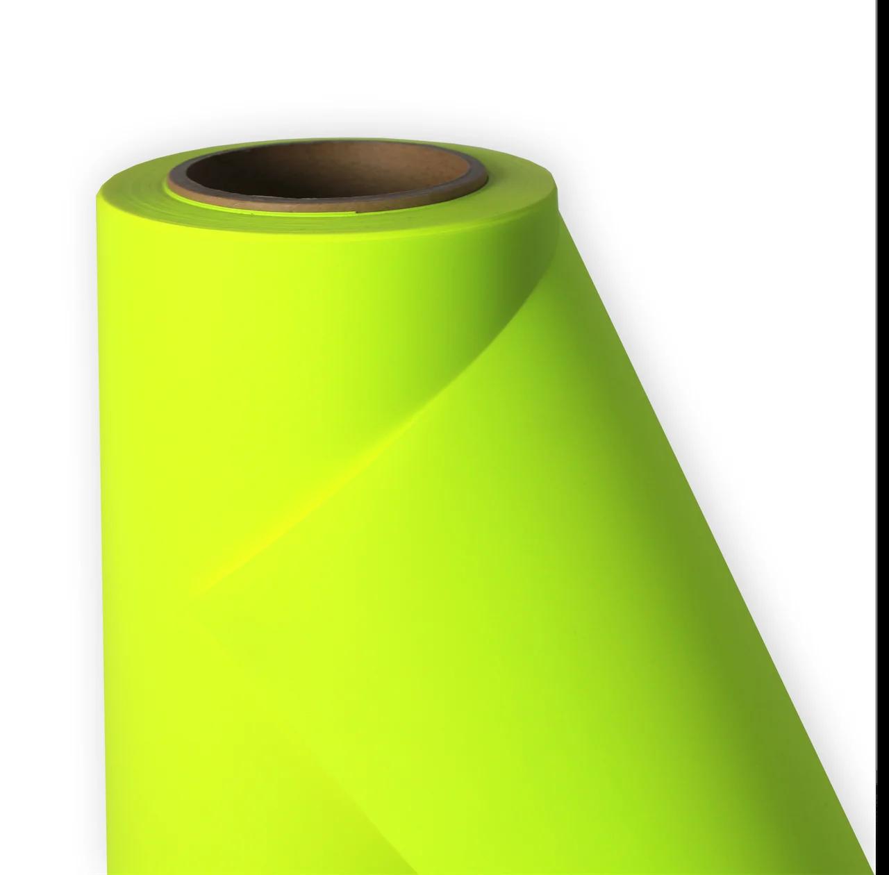Термо флекс 0,5мх25м PU флуоресцентный желтый метр