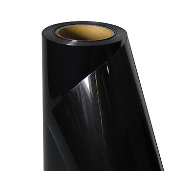 Термо флекс 0,5мх25м PU черный метр