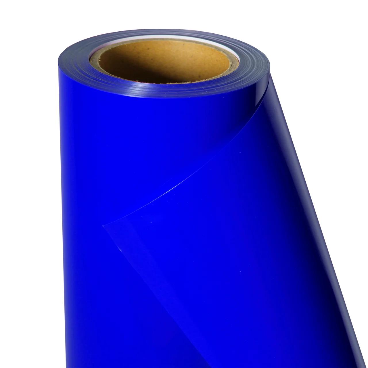 Термо флекс 0,5мх25м PU синий метр