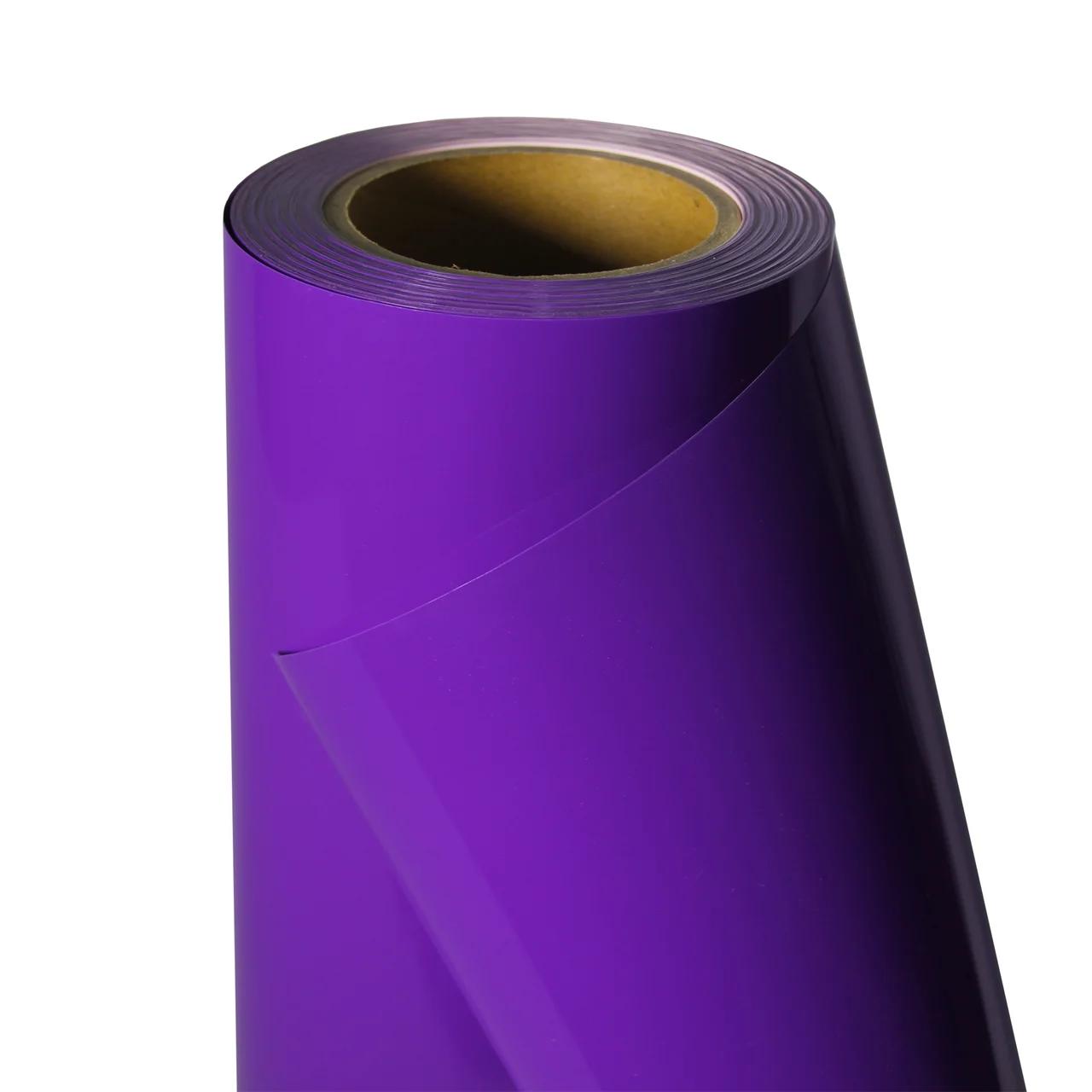 Термо флекс 0,5мх25м PU фиолетовый метр