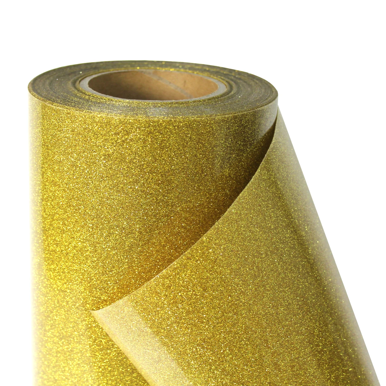 Термо флекс 0,5мх25м золото с блестками