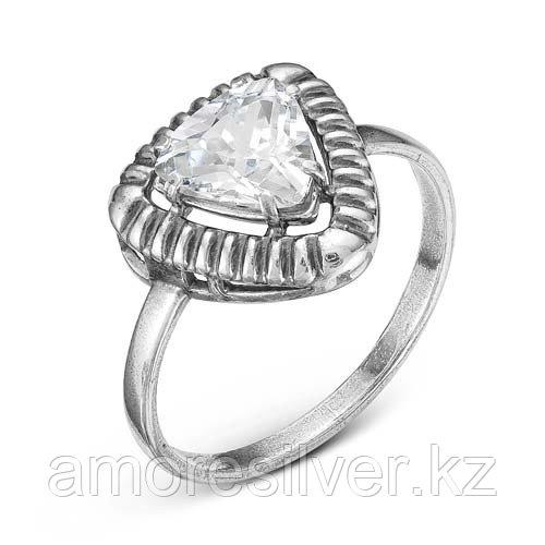 Серебряное кольцо с фианитом  Красная Пресня 2388536